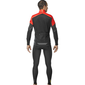 Mavic Cosmic Thermo Jacket Herren black/fiery red